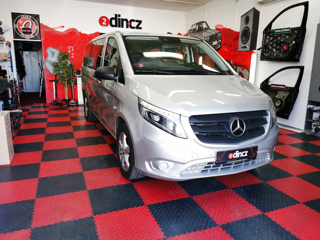 Mercedes-benz Vito - Kompletní odhlučnění