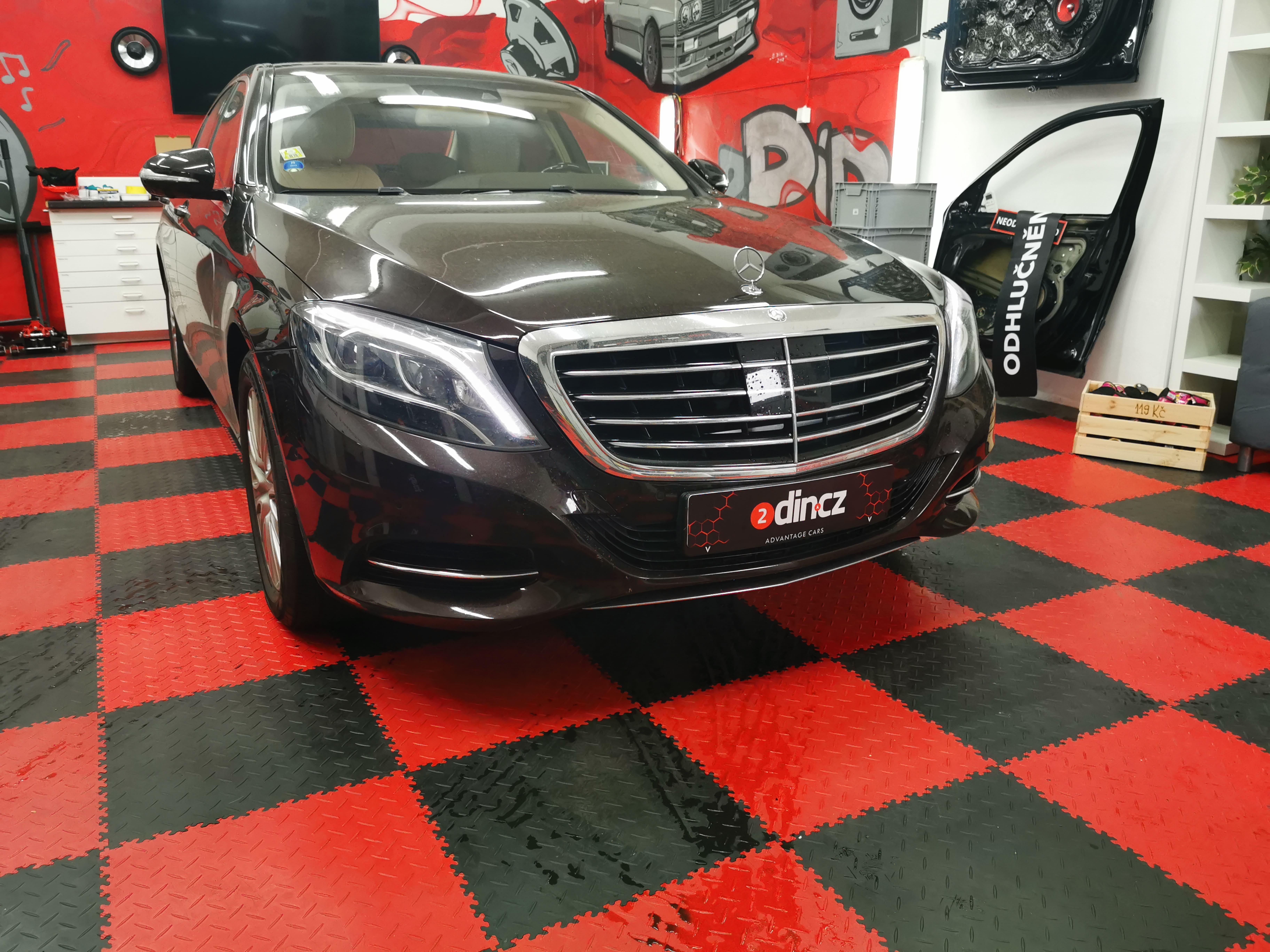 Mercedes Benz S-class - Předělání soundsystému