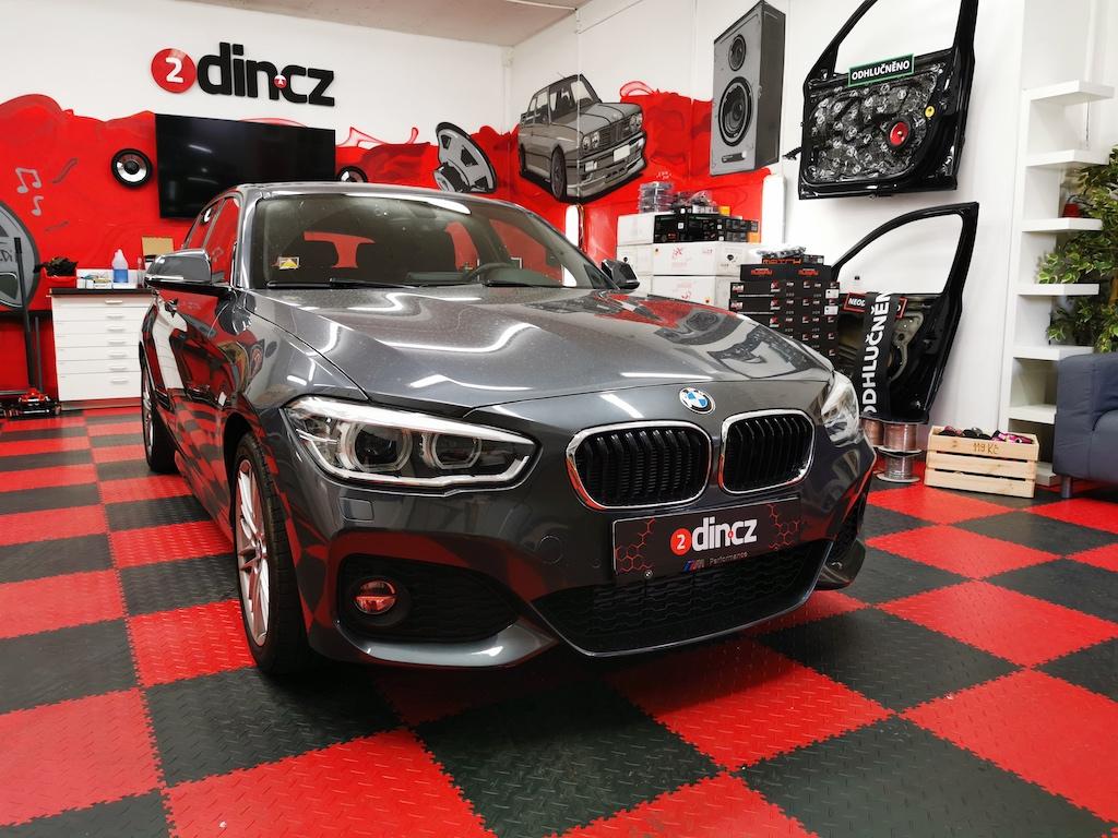 BMW 1 F20 - Kompletní ozvučení