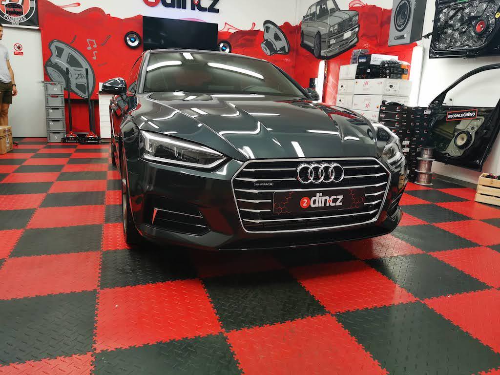 Audi A5 - Odhlučnění dveří a podběhů