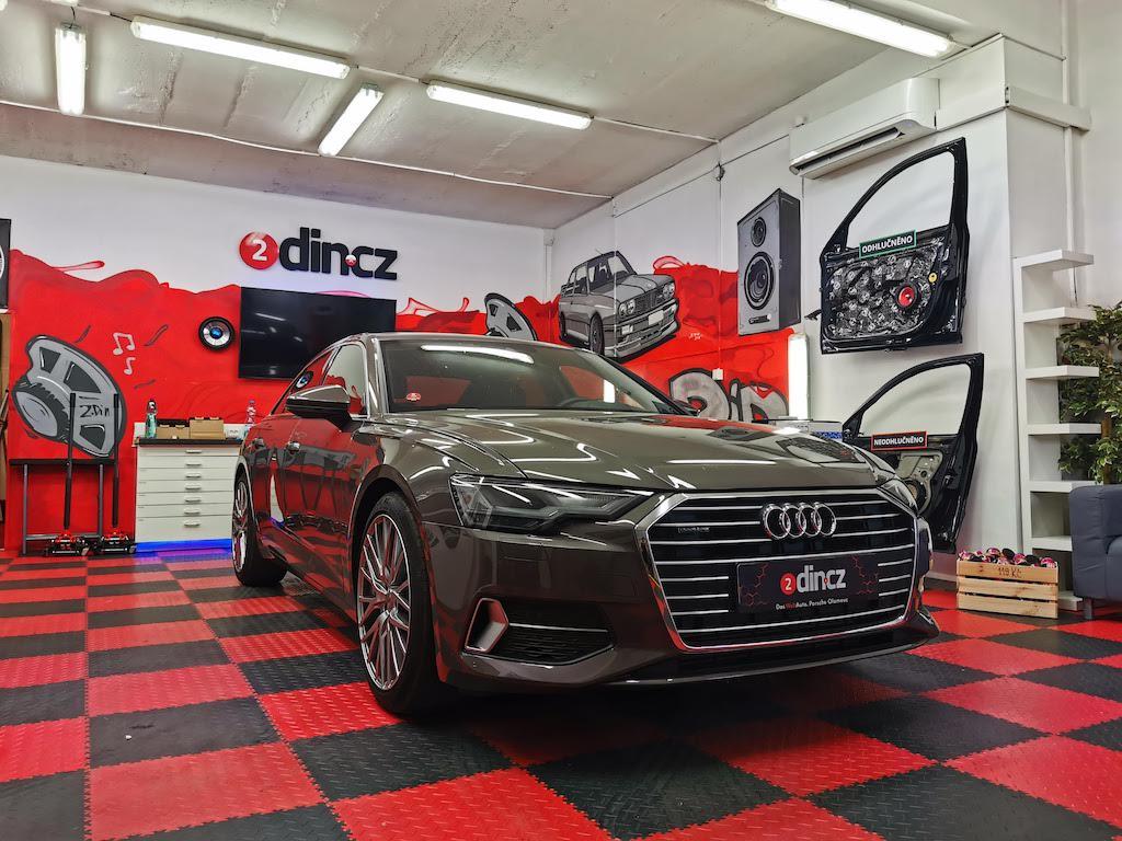 Audi A6 - Kompletní high-end ozvučení