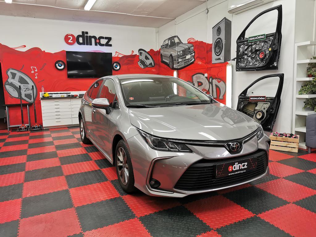 Toyota Corolla - Odhlučnění podlahy a kufru
