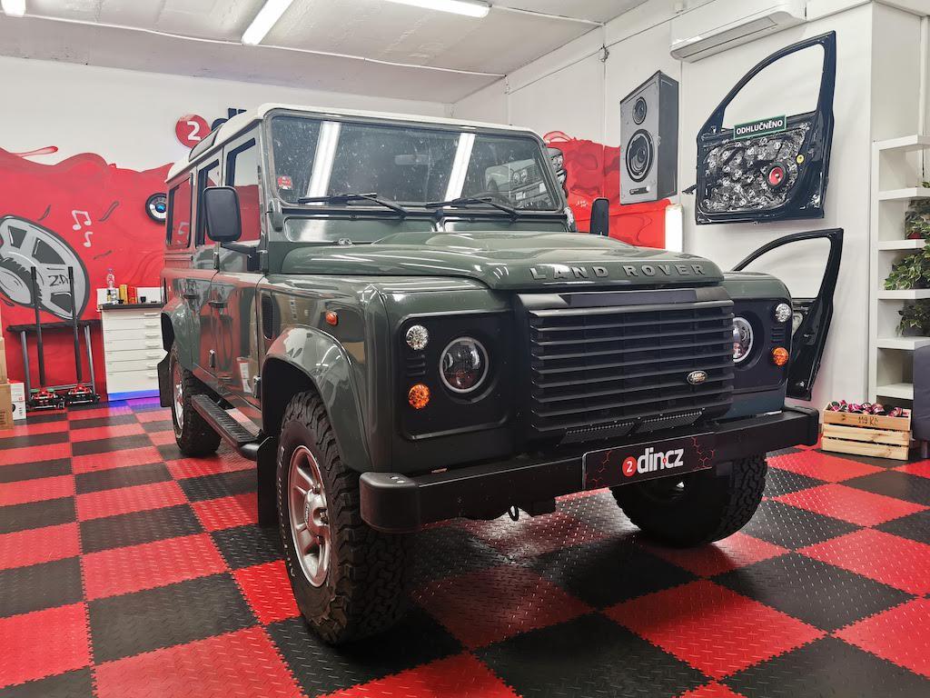 Land Rover Defender - Kompletní odhlučnění