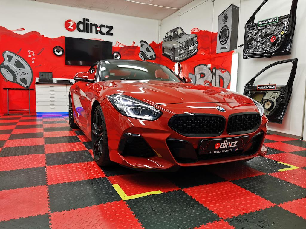 BMW Z4 G29 - Upgrade HiFi 676 za nový sound systém