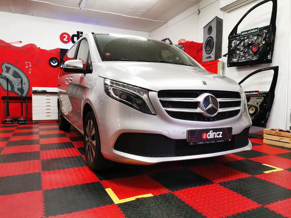 Mercedes-benz V-Class - Dodělání Apple Carplay a Android auto