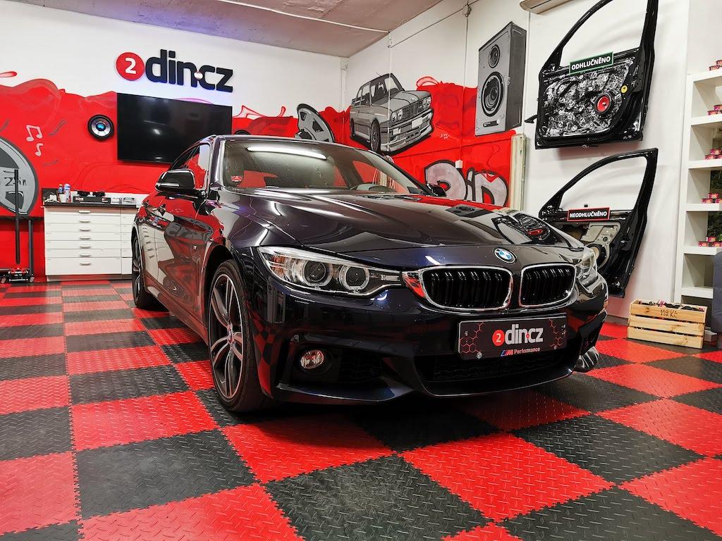 BMW 4 F36 - Upgrade základního zvuku na high-end