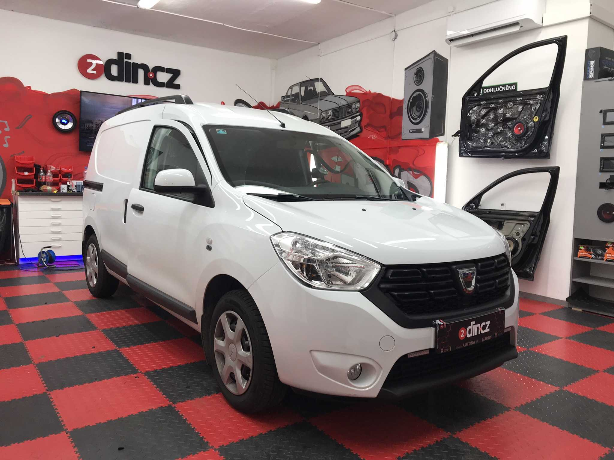 Dacia Dokker - Odhlučnění kabiny