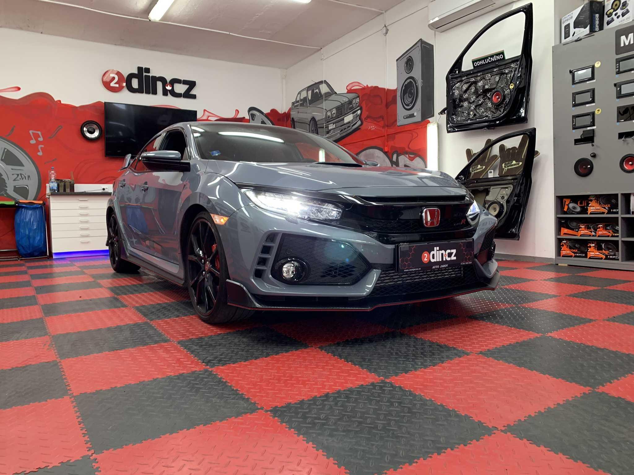 Honda Civic 10G Type R 2019 - Kompletní ozvučení