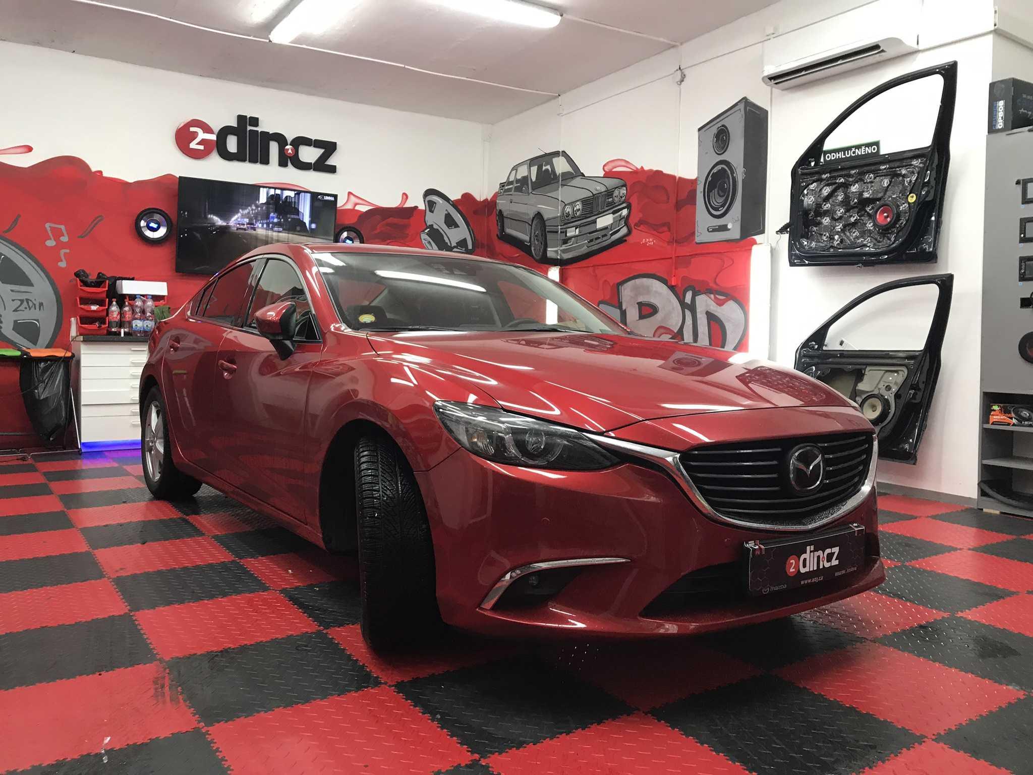 Mazda 6 - Odhlučnění Ekonom