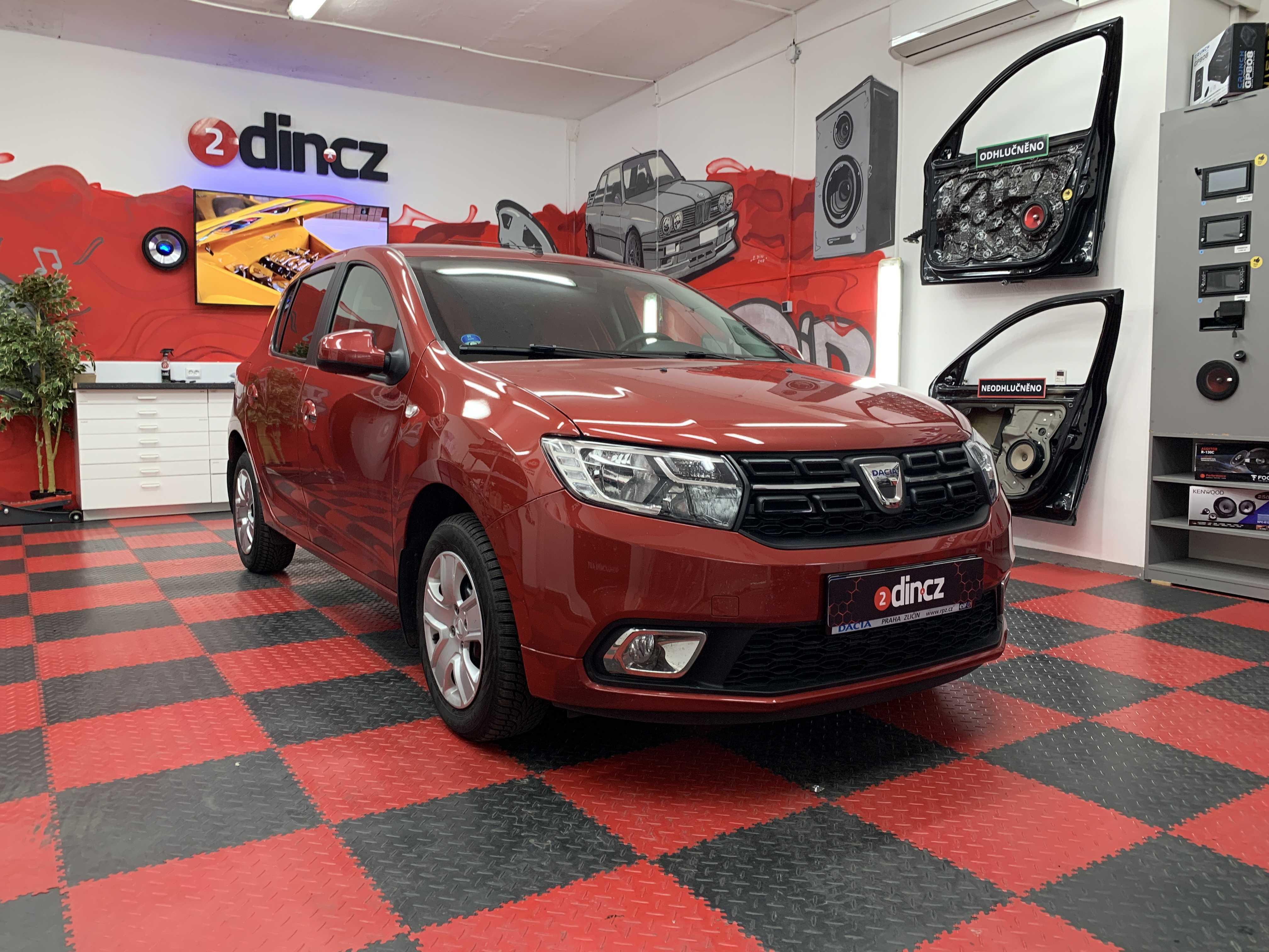 Dacia Sandero - Částečné odhlučnění