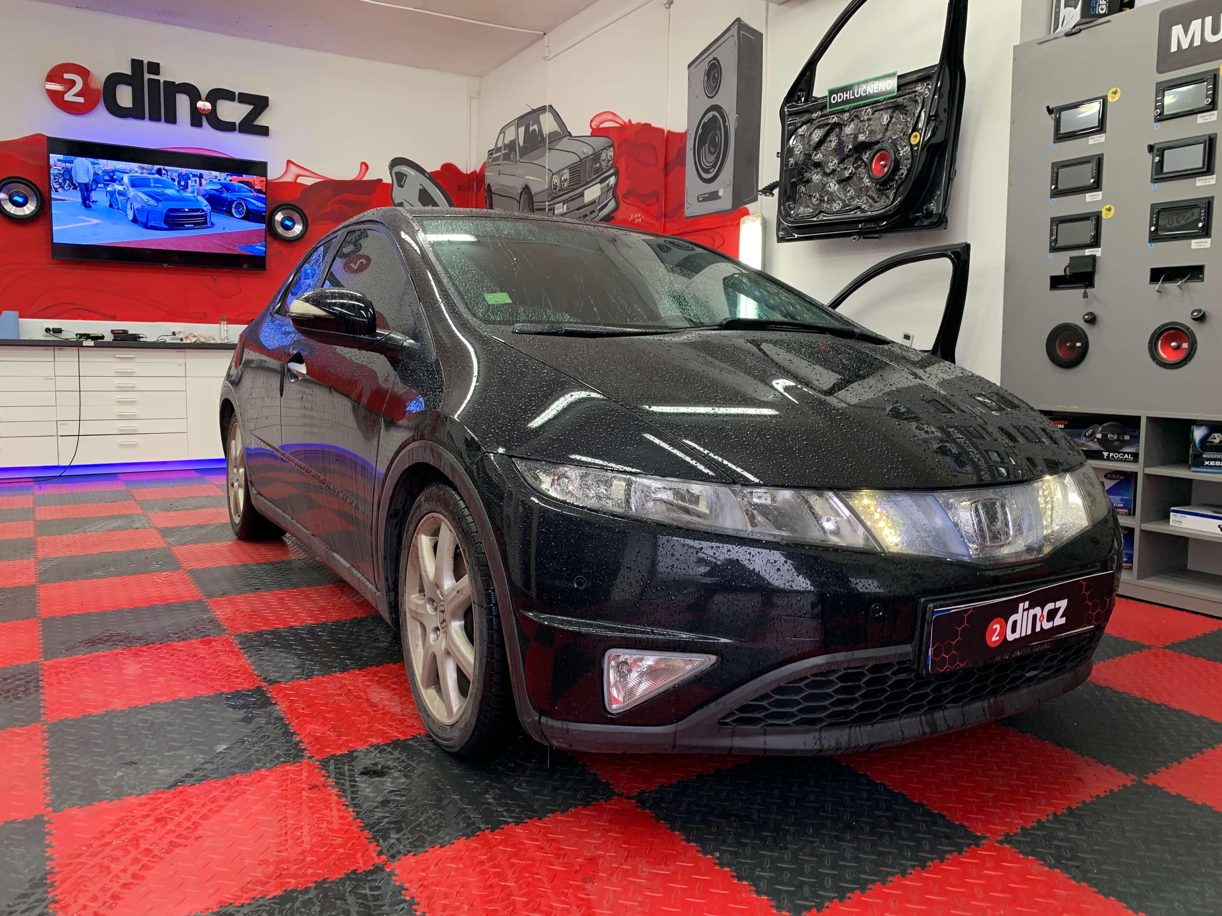 Honda Civic 8g - Odhlučnění dveří
