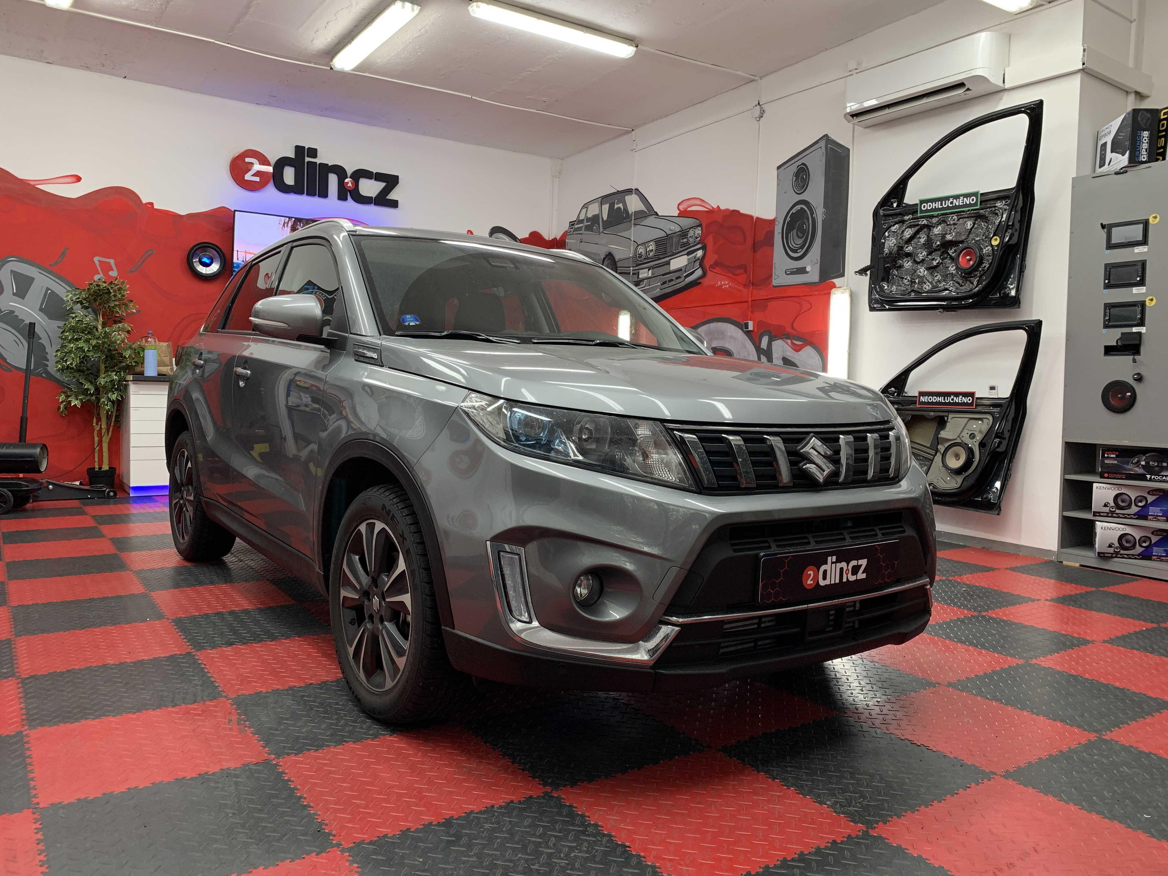 Suzuki Grand Vitara - Výměna reproduktorů