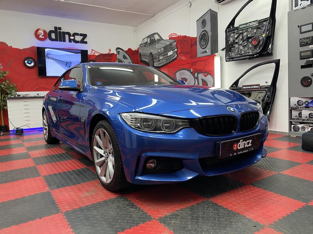 BMW 4 F32 Gran Coupe - Upgrade originálního HiFi 676