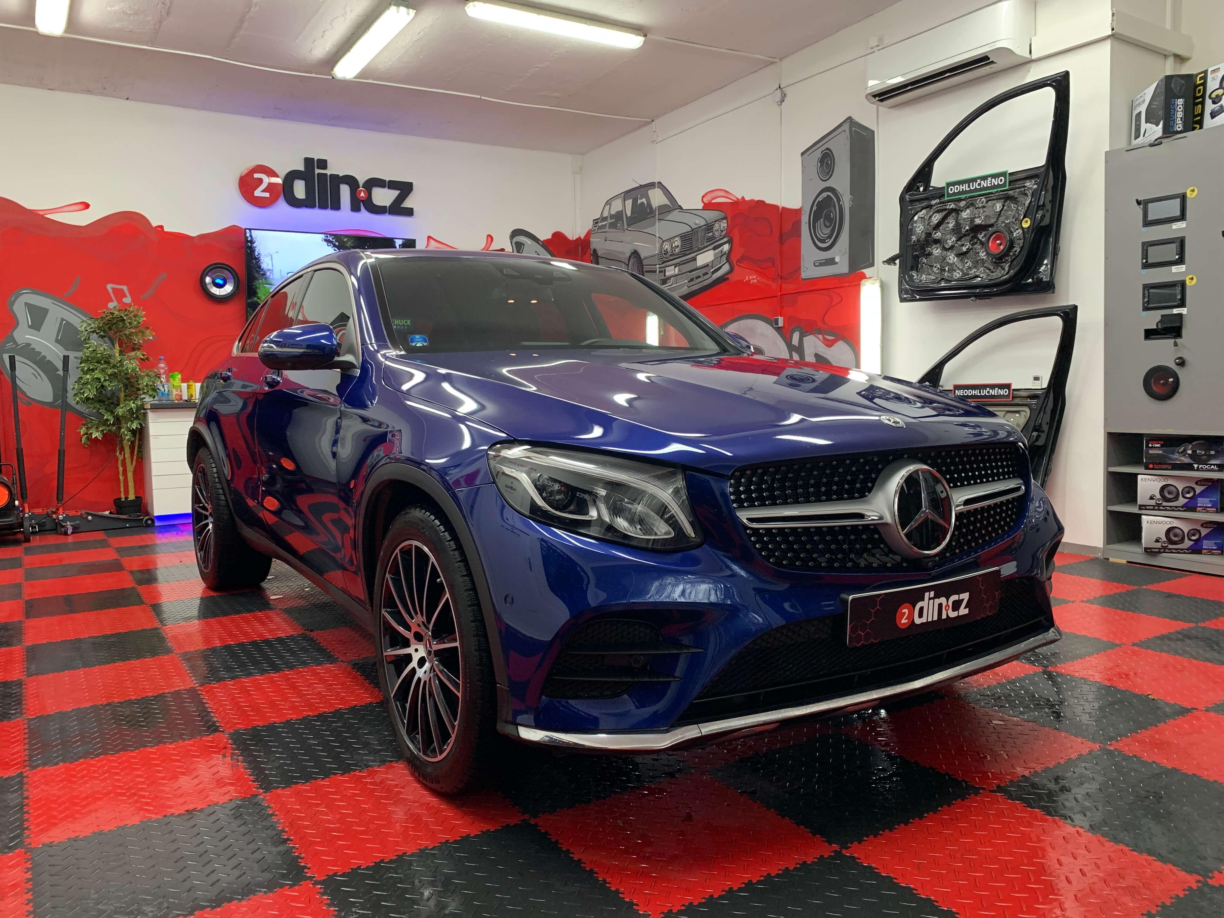 Mercedes Benz GLC - Ozvučení Plug and Play