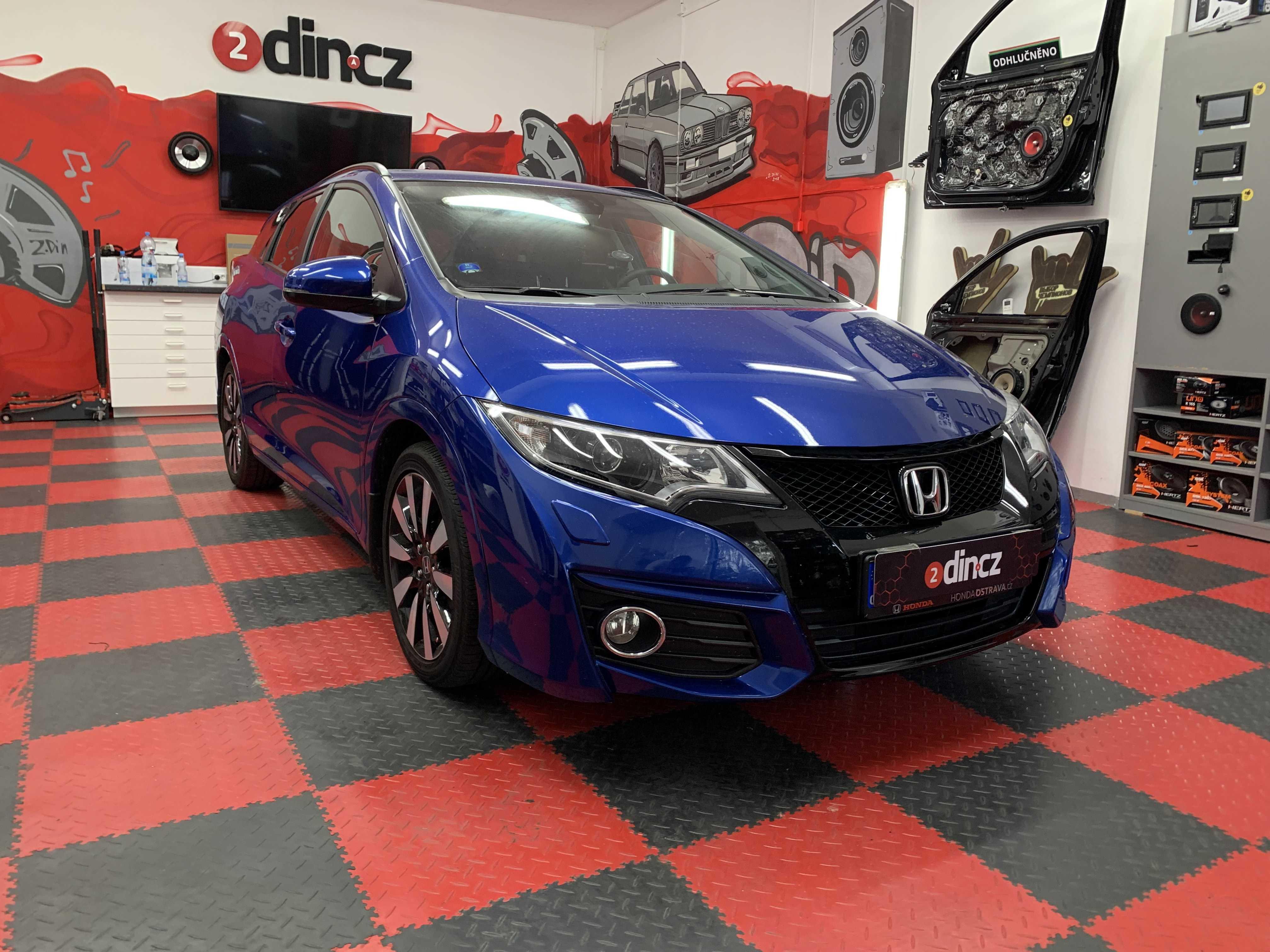 Honda Civic 9g - Odhlučnění a ozvučení