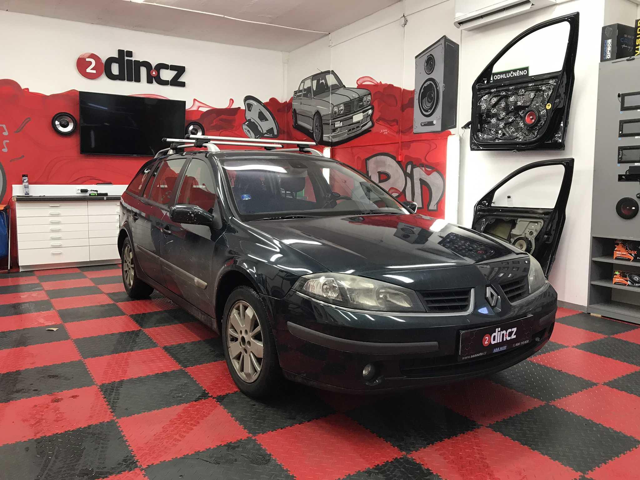 Renault Laguna - Montáž 1din autorádia