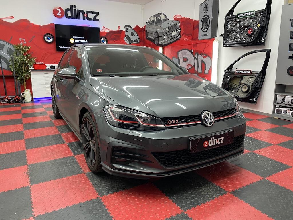 VW Golf 7 GTI - Odhlučnění kufru