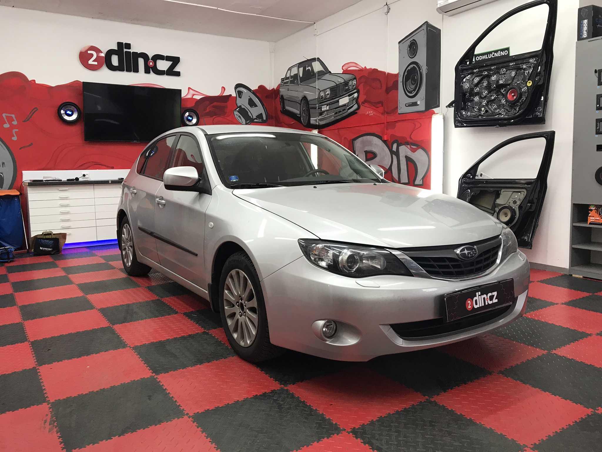 Subaru Impreza - Montáž 2din autorádia Kenwood