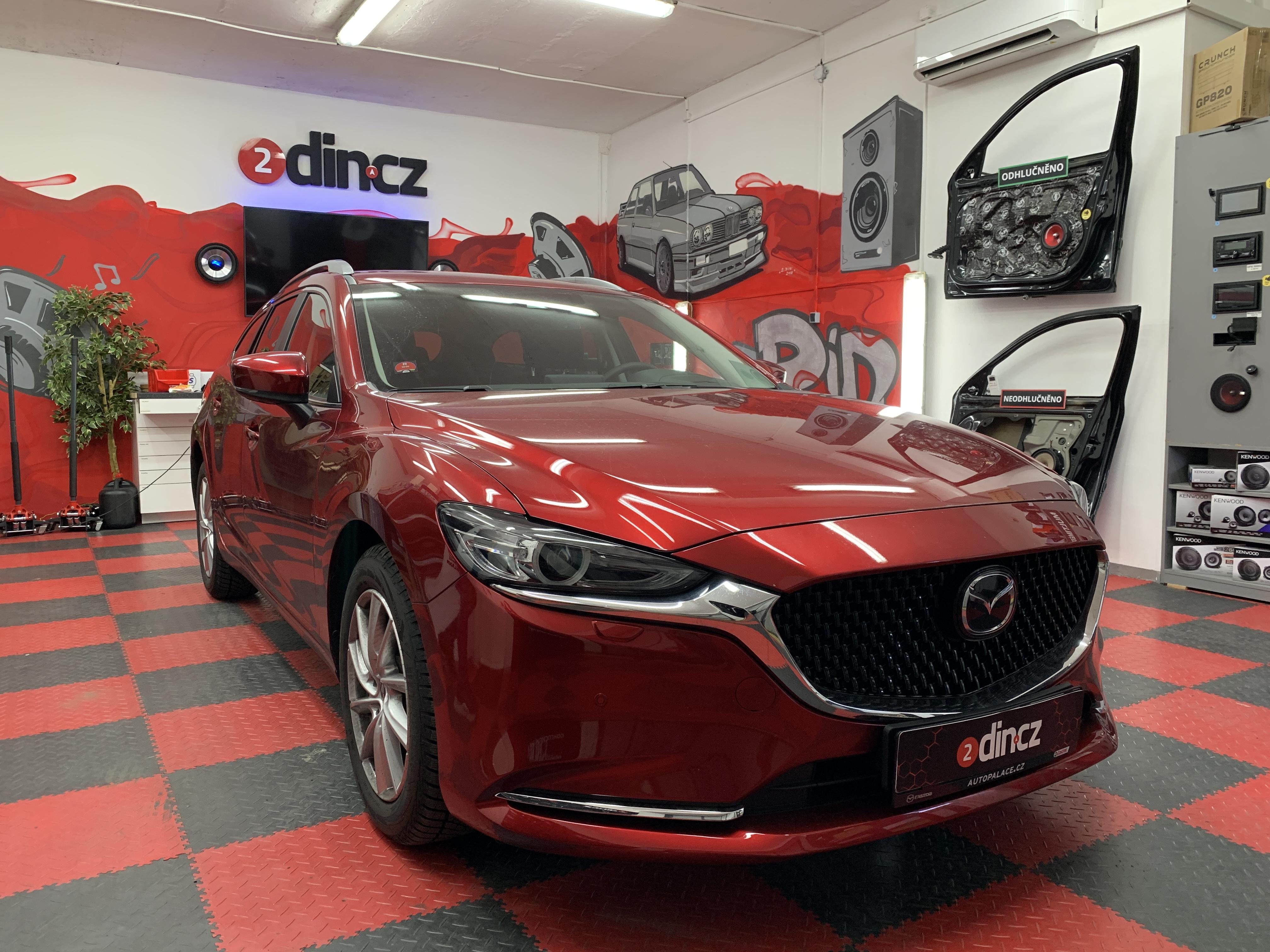 Mazda 6 - Částečné odhlučnění
