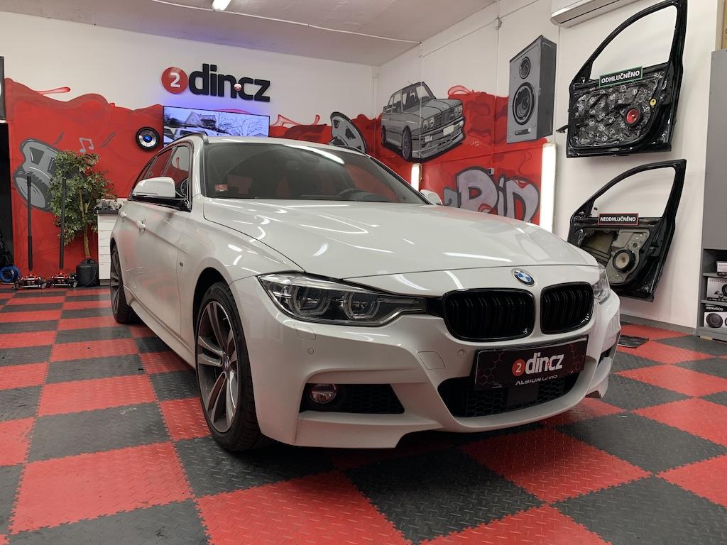 BMW 3 F31 - odhlučnění dveří