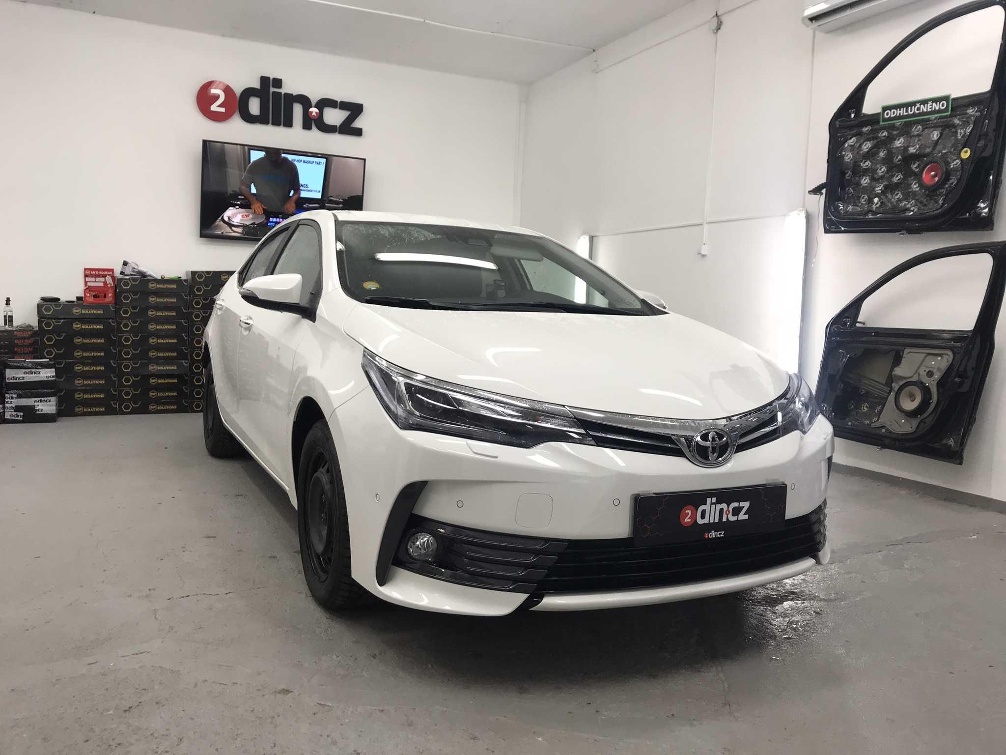 Toyota Corolla 2018 - Kompletní odhlučnění