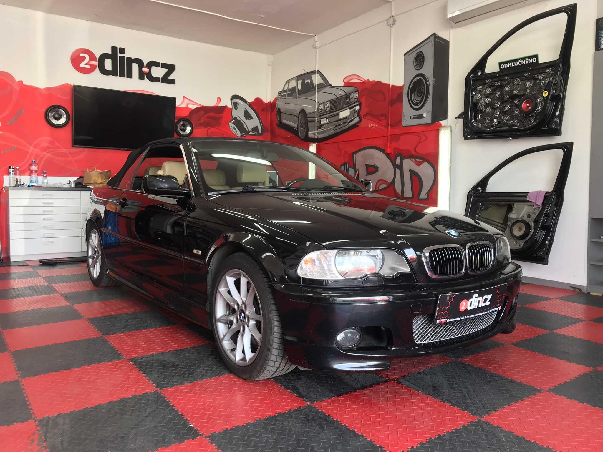 BMW e46 - Montáž speciálního autorádia