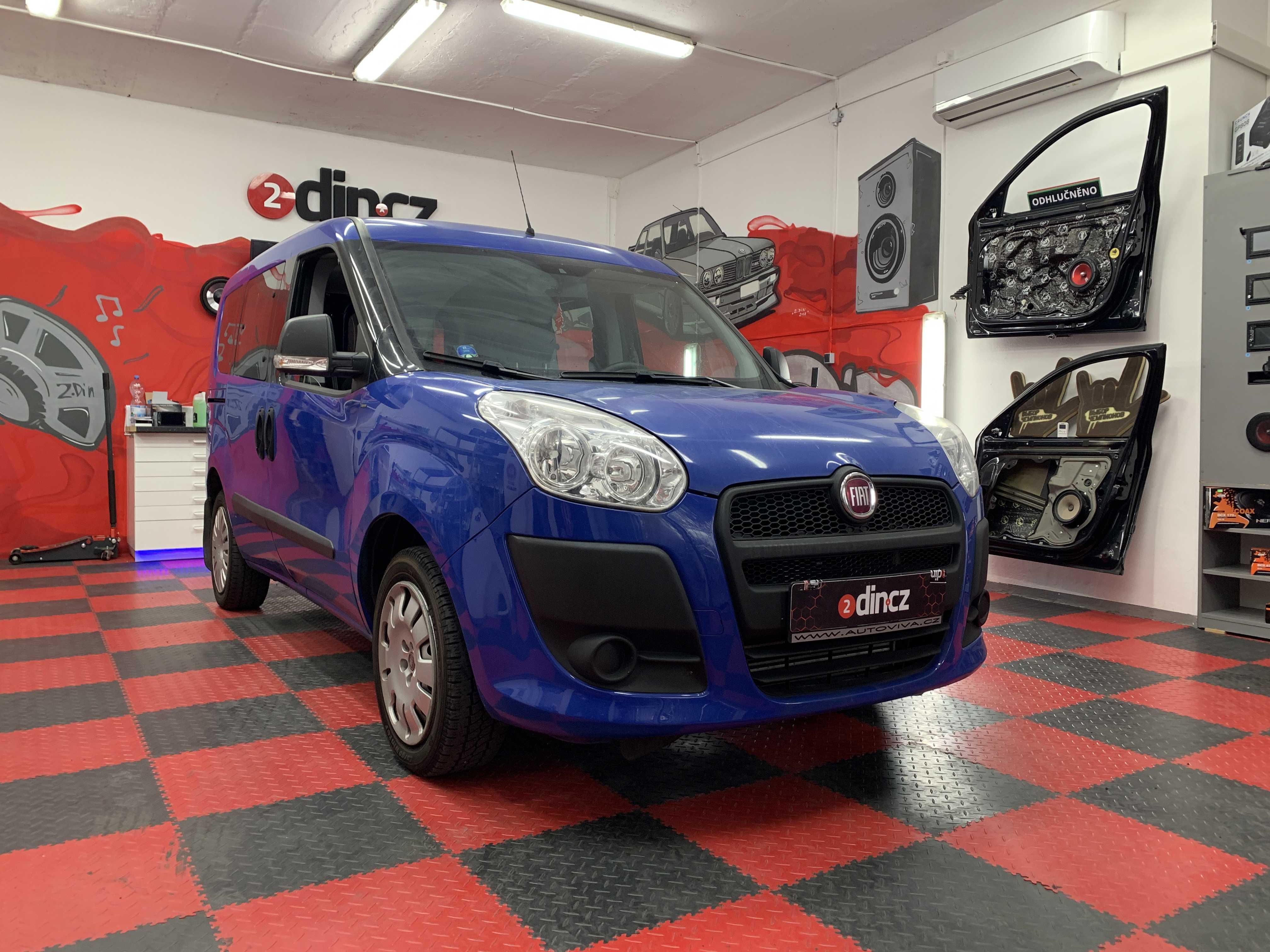 Fiat Doblo - Kompletní odhlučnění