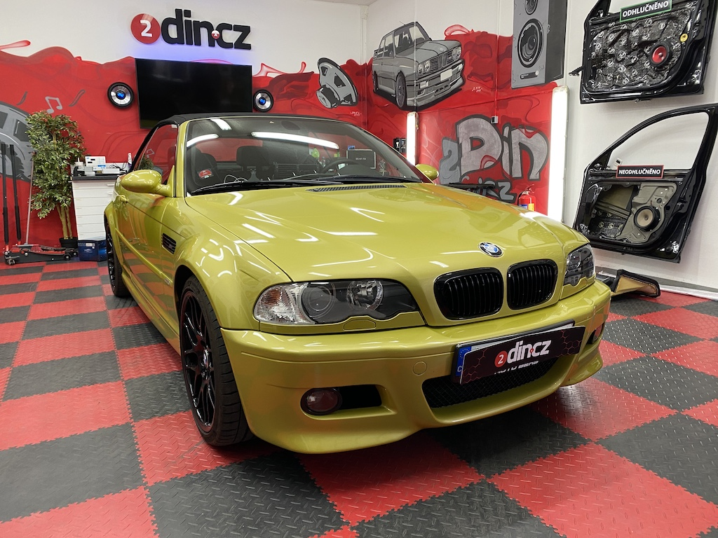 BMW M3 e46 - Výměna autorádia