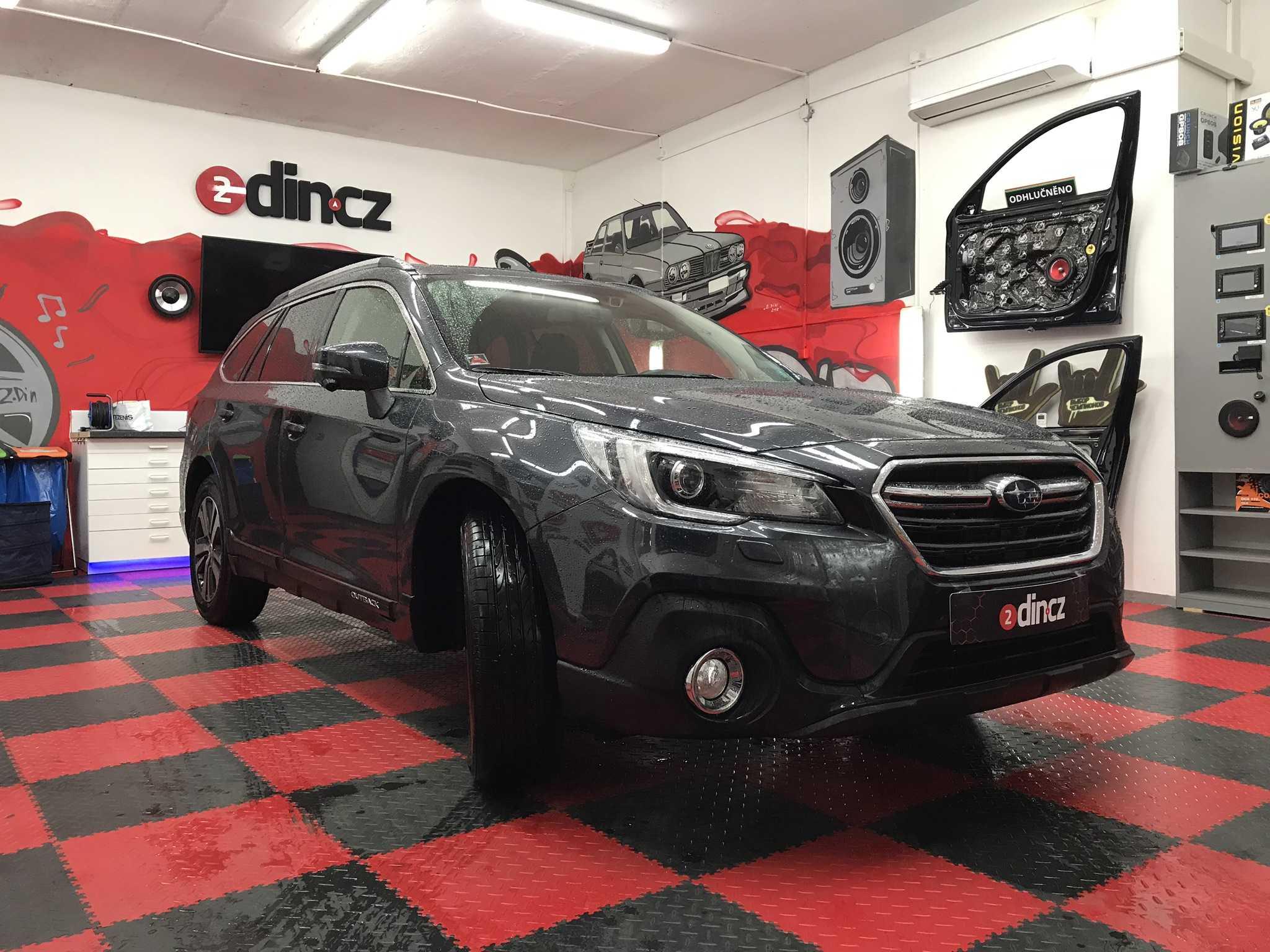 Subaru Outback - Odhlučnění