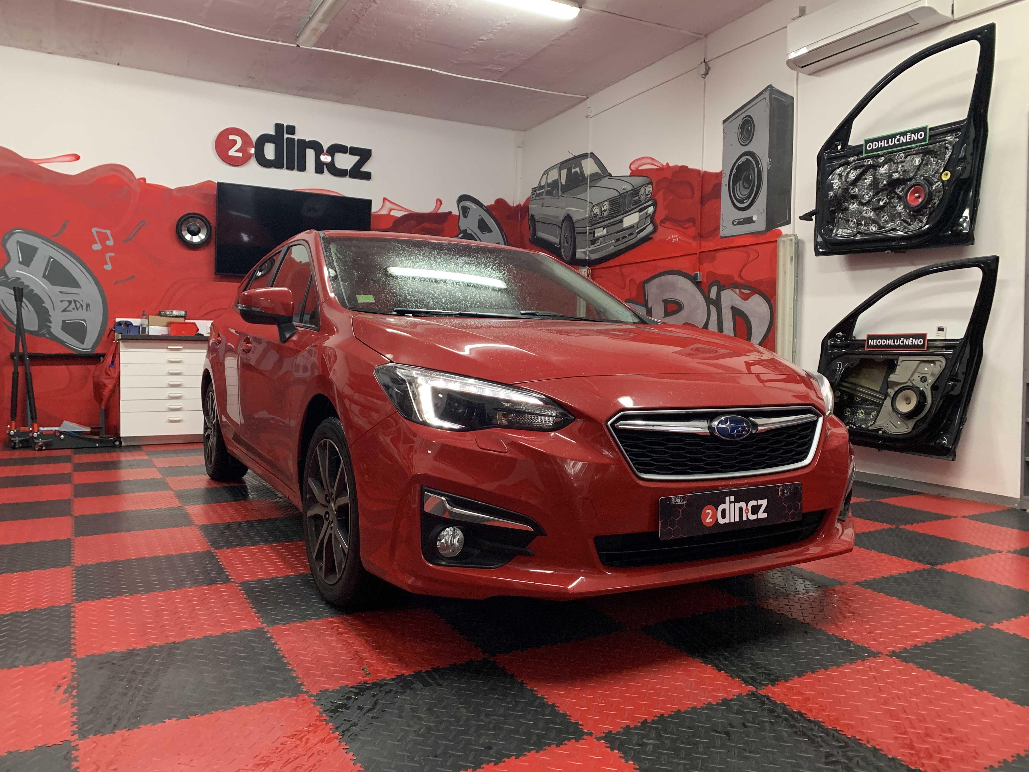 Subaru Impreza - Odhlučnění