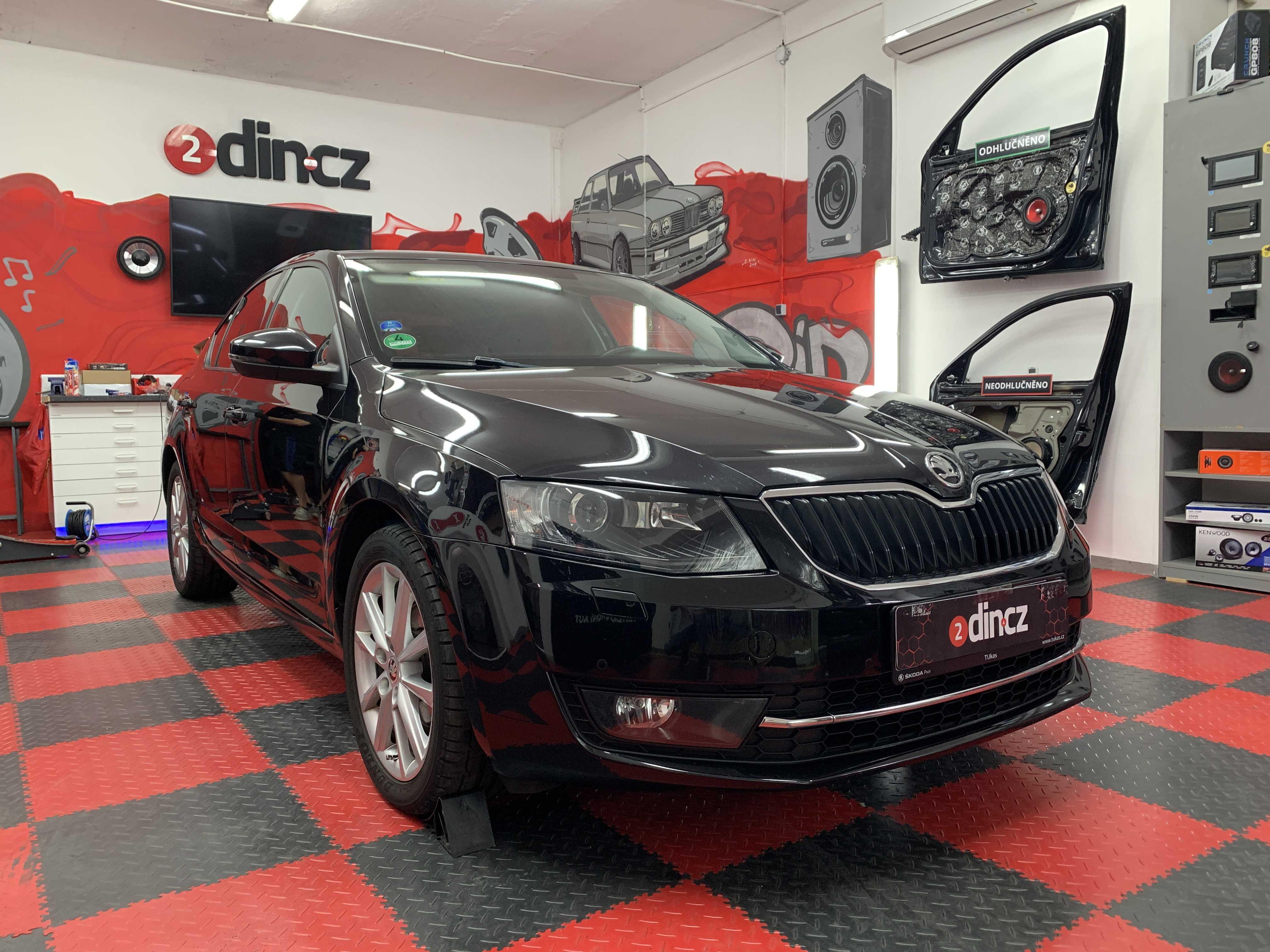 Škoda Octavia III - Odhlučnění zadních dveří a podběhů