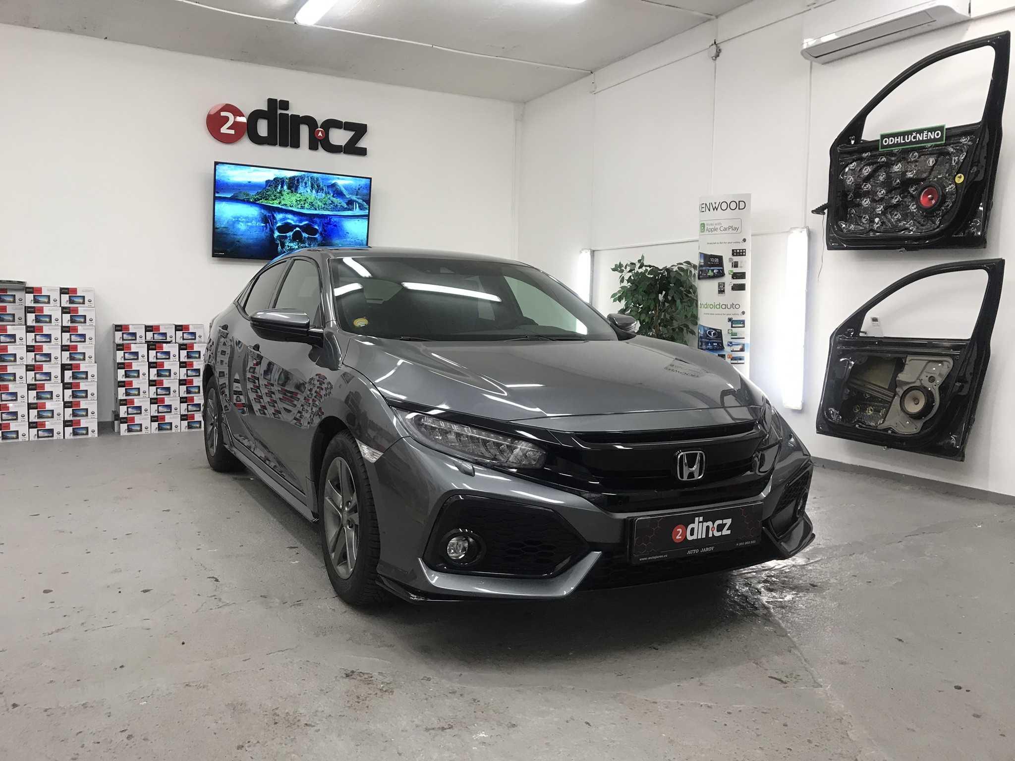 Honda Civic 10g - Odhlučnění Premium