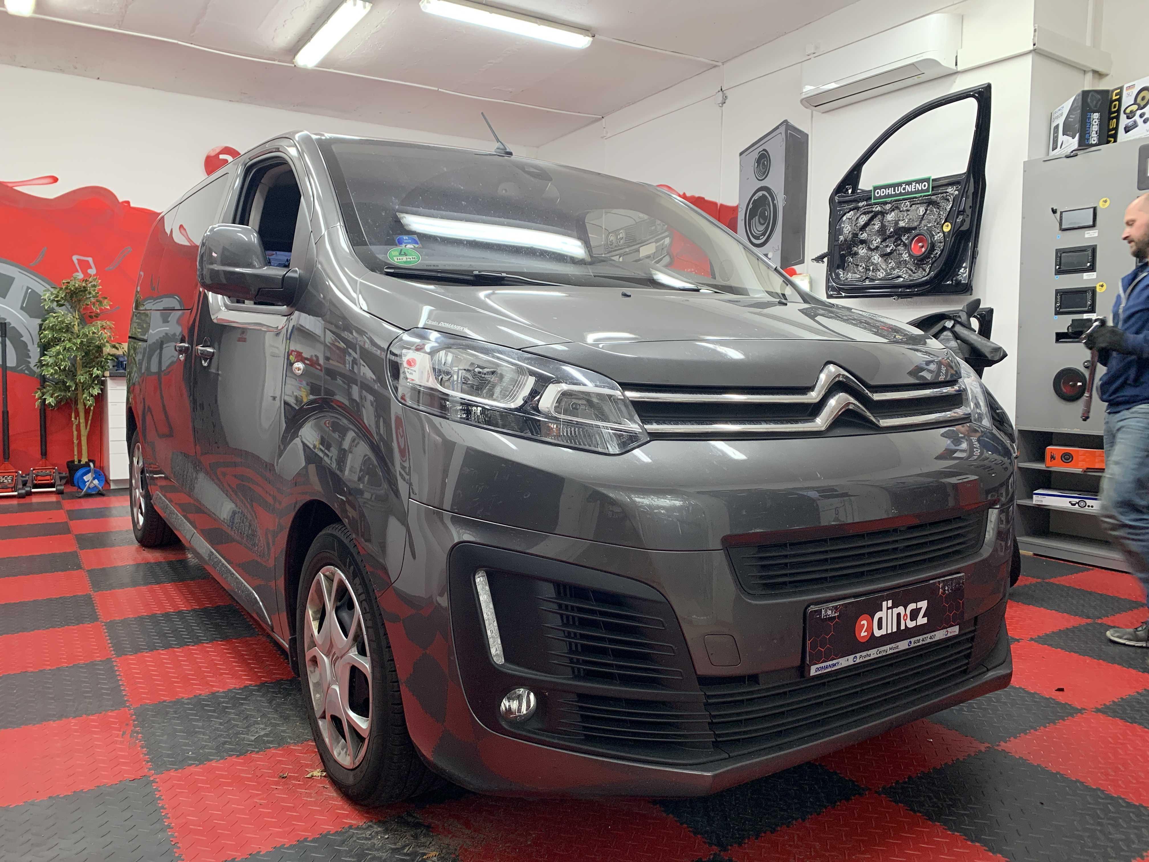 Citroën Space Tourer - Kompletní odhlučnění