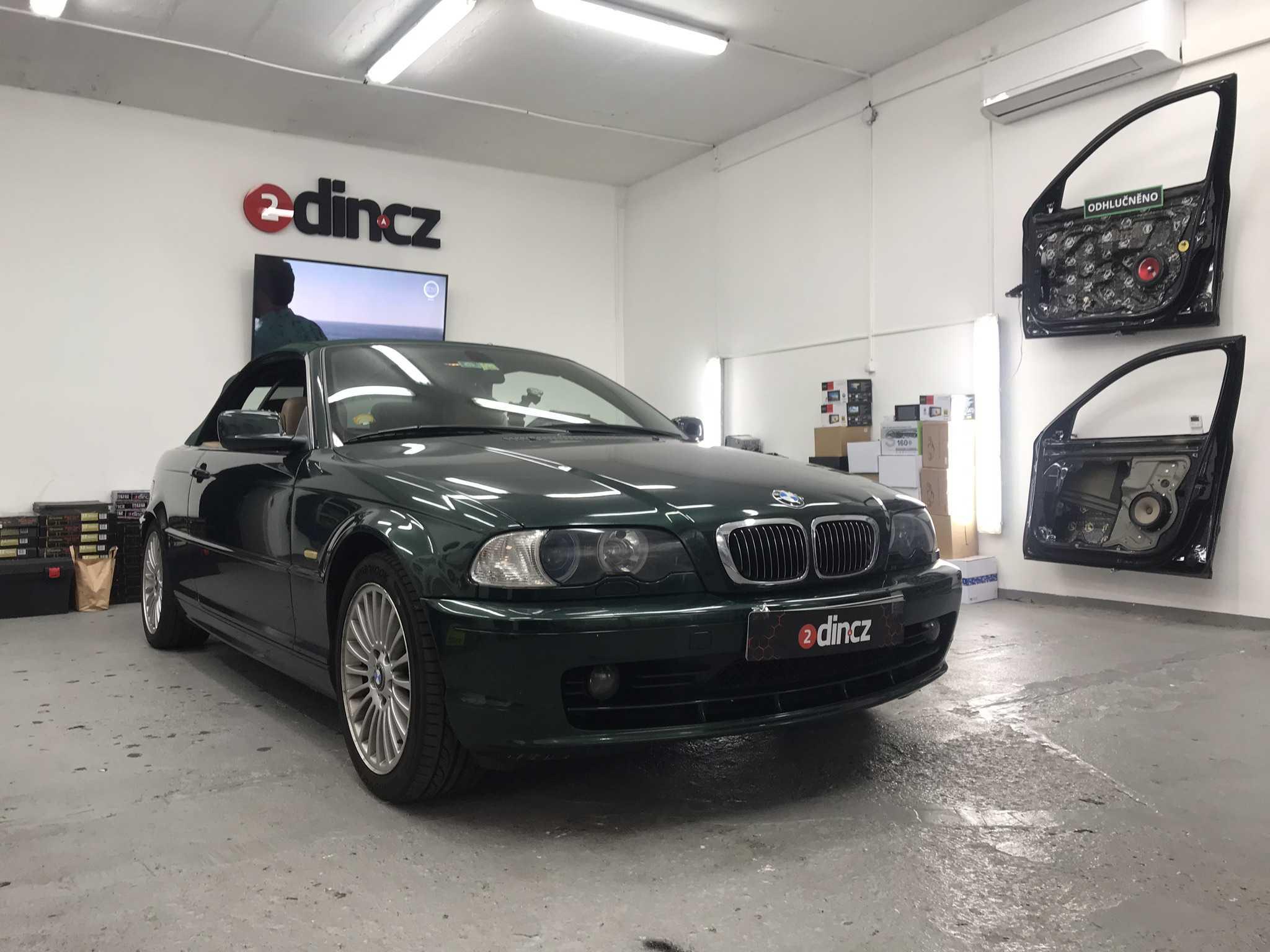 BMW 3 e46 - Výměna reproduktorů