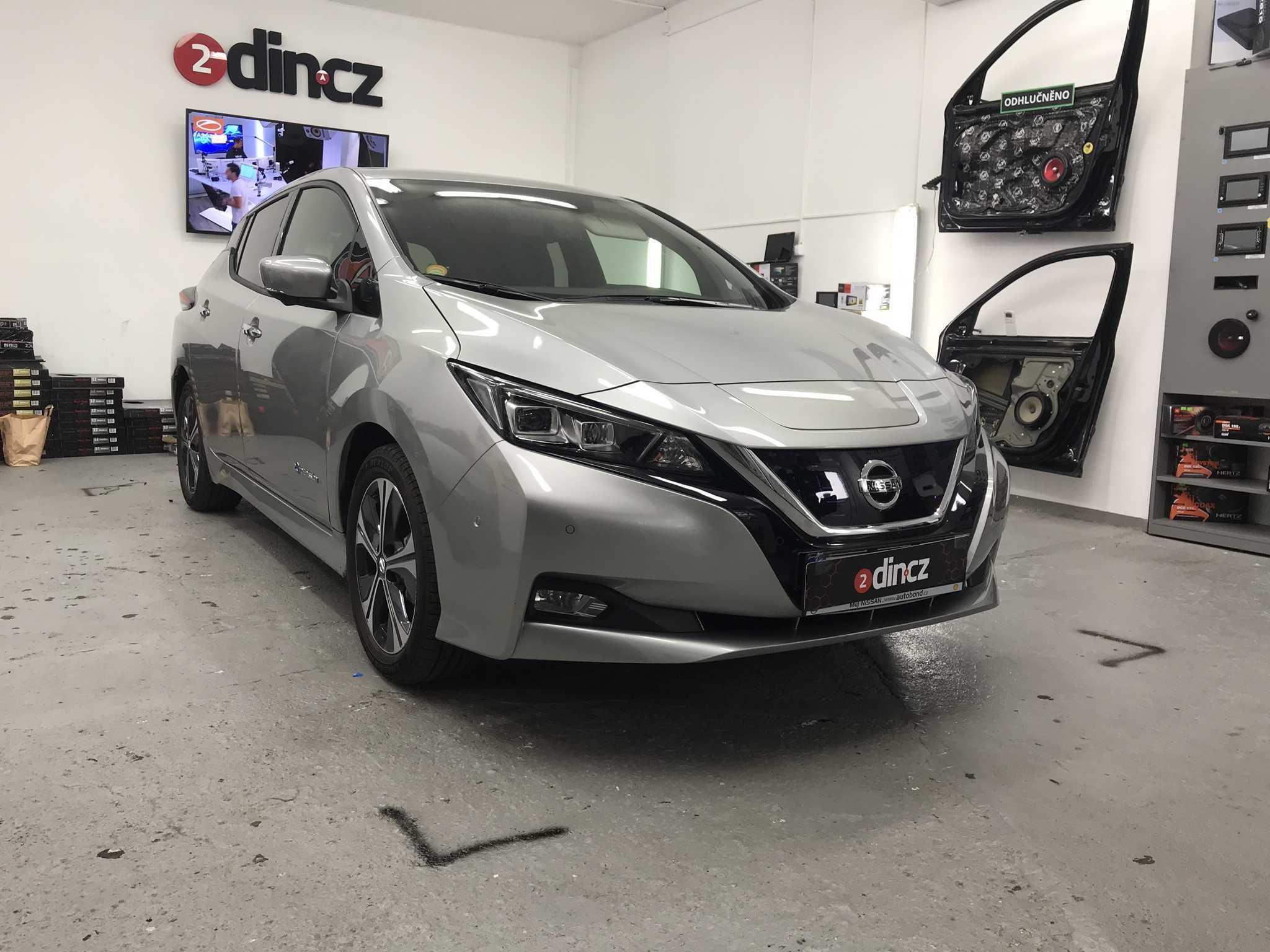 Nissan Leaf - Kompletní odhlučnění