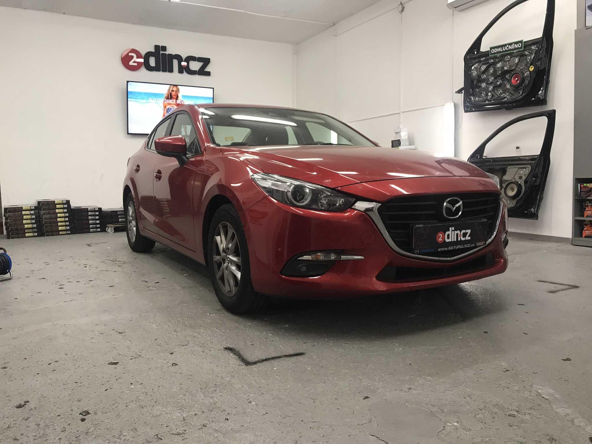 Mazda 3 - Kompletní odhlučnění