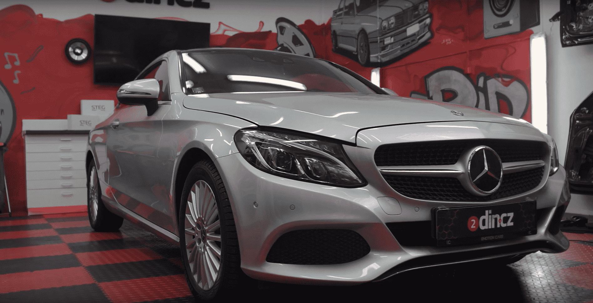 Mercedes C-Class Coupe - Kompletní high-end ozvučení