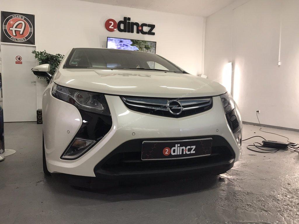 Opel Amera - Odhlučnění kapoty