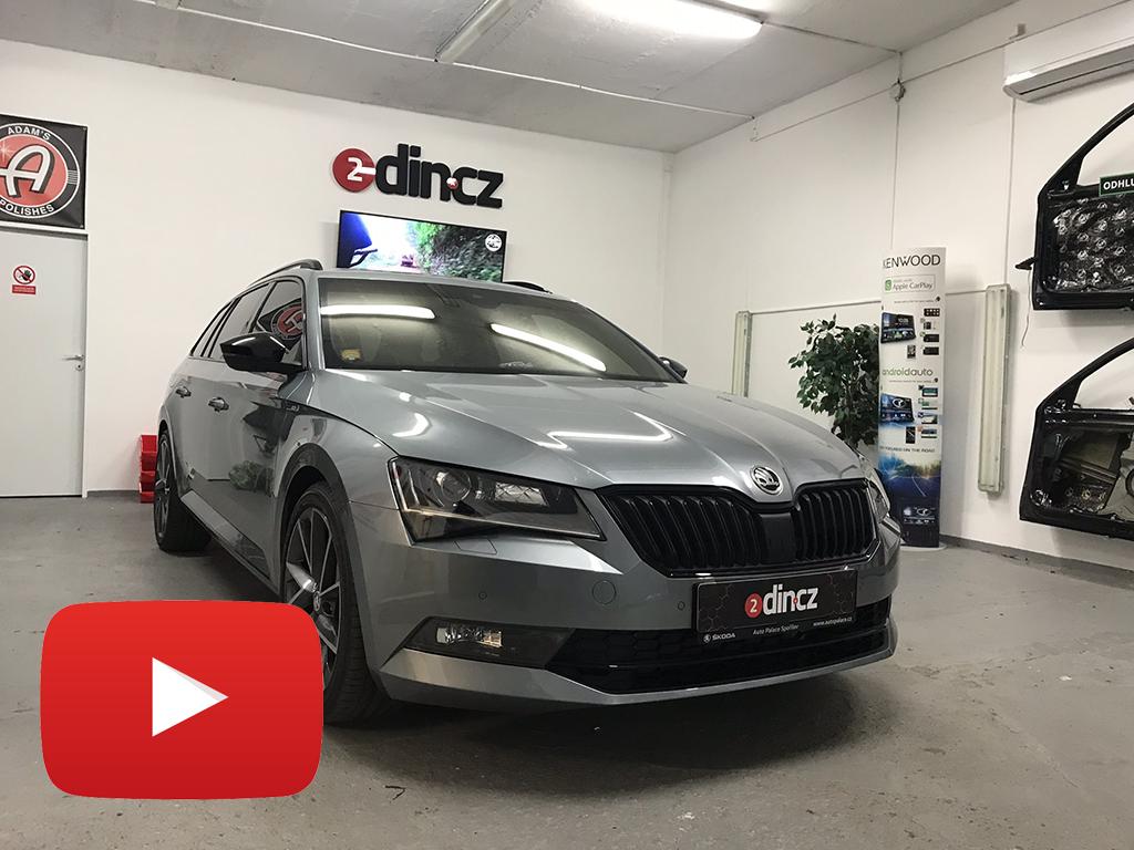 Škoda Superb III - Kompletní odhlučnění vozidla