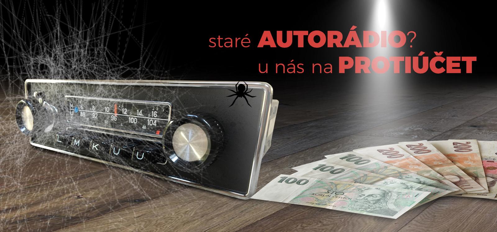 Autorádia na protiučet u 2din.cz