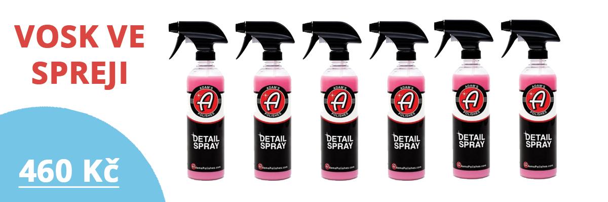 Vosk ve spreji Detail spray