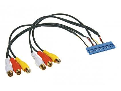 AV adaptéry pro multimédia do auta