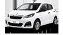 Redukční rámečky pro vozy Peugeot 108
