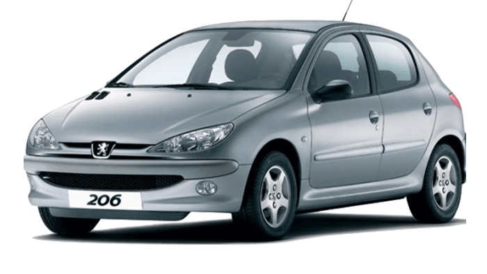 Repro podložky MDF pro vozy Peugeot 206