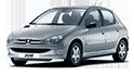 Redukční rámečky k autorádiím pro Peugeot 206