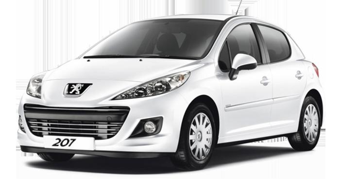 Repro podložky MDF pro vozy Peugeot 207