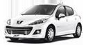 Redukční rámečky k autorádiím pro Peugeot 207