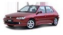 Redukční rámečky k autorádiím pro Peugeot 306