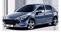 Redukční rámečky k autorádiím pro Peugeot 307