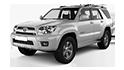 Redukční rámečky k autorádiím pro Toyota 4Runner